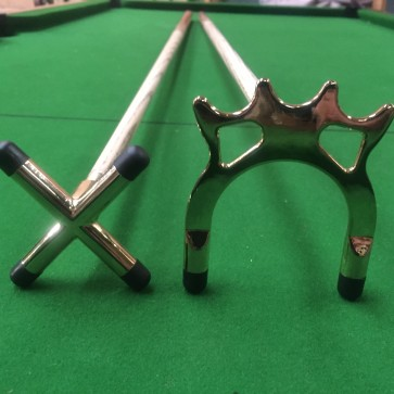 Ash Brass Cue Rest and Spider