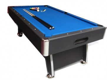 Charlton 7Foot Pool Snooker Table & Accessories Blue