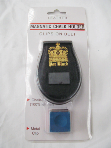 MITCHELL LEATHER MAGNETIC CHALK HOLDER CLIP - includes chalk