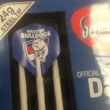 AFL Licensed DART SET - Western BULLDOGS