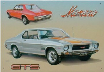 Australian Cars & Transport Holden HQ Monaro GTS Tin Sign