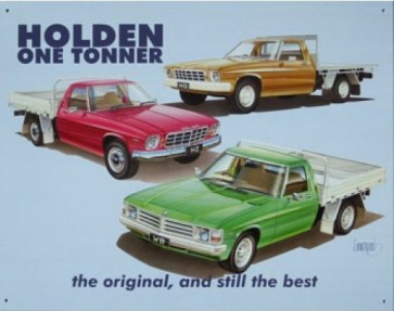 Australian Cars & Transport Holden One Tonner Tin Sign
