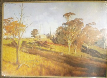 Australian Heritage Series - Light On The Hill - Tin Sign