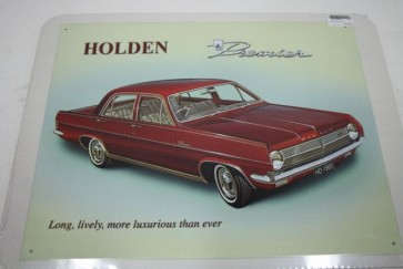 Australian Cars & Transport 1965 Holden HD Premier Tin Sign