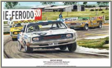 Australian Cars & Transport Mopar Bathurst 1971 Chrysler E38 Tin Sign
