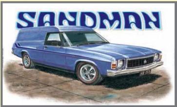 Australian Cars & Transport - Holden 1976 HX Sandman - Tin Sign