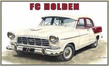 Australian Cars & Transport - FC Holden Sedan - Tin Sign