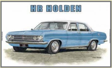Australian Cars & Transport - HR Holden Sedan - Tin Sign