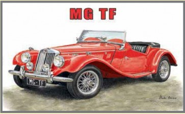 Australian Cars & Transport - MG TF - Tin Sign