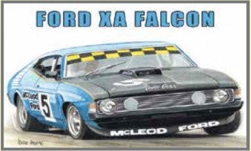 Australian Cars & Transport - Ford XA Falcon John Goss Sports Sedan - Tin Sign