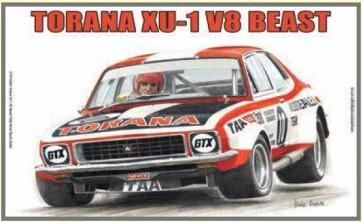 "Australian Cars & Transport - Holden Torana XU-1 V8 ""Beast"" Peter Brock Sports Sedan - Tin Sign"