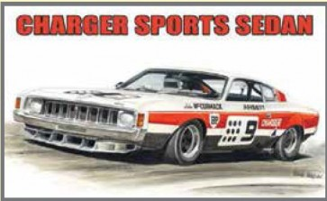 Australian Cars & Transport - Valiant Charger Sports Sedan - Tin Sign
