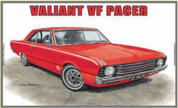 Australian Cars & Transport - Valiant VF Pacer 2 Door Coupe - Tin Sign