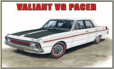 Australian Cars & Transport - Valiant VG Pacer 4 Door Sedan - Tin Sign