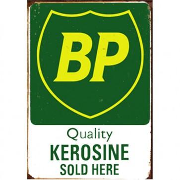 Australian Cars & Transport - BP Quality Kerosine Vintage - Tin Sign