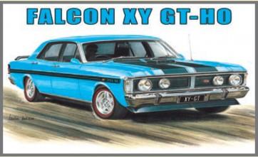 Australian Cars & Transport Ford Falcon XY GT HO True Blue Tin Sign