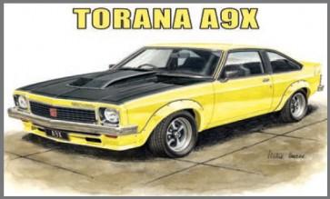 Australian Cars & Transport Torana A9X 2 Door Hatch Tin Sign
