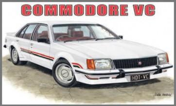 Australian Cars & Transport HDT VC Commodore Tin Sign