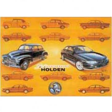 Australian Cars & Transport Holden 50th Anniversary Tin Sign