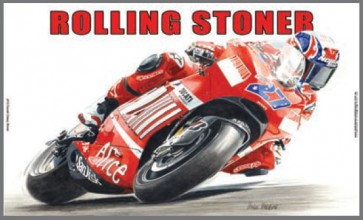 Australian Cars & Transport Ducati Casey Stoner Tin Sign