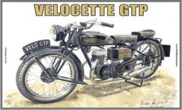 Australian Cars & Transport Velocette GTP 1932 Tin Sign