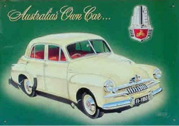 Aussie Cars & Transport - 1953 FJ Holden - Tin Sign