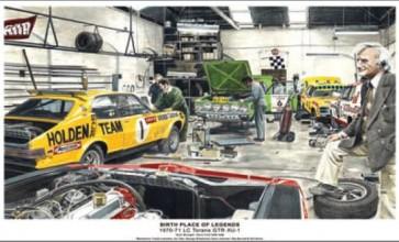 Australian Cars & Transport 1970 -71 LC Torana GTR XU 1 WorkshopTin Sign