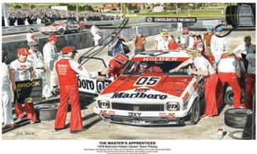 Australian Cars & Transport 1978 Torana A9X Pitstop Tin Sign