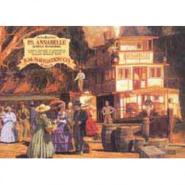 Australian Heritage Series P.S. Annabelle Riverboat Echuca Tin Sign