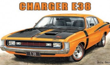 Australian Cars & Transport Dodge E38 Charger Tin Sign