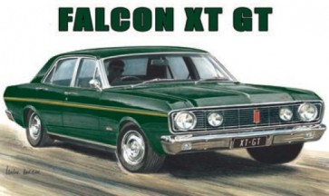 Australian Cars & Transport Ford Falcon XT GT Tin Sign