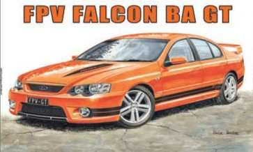 Australian Cars & Transport FPV Ford Falcon BA GT Tin Sign