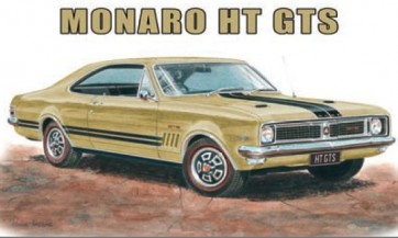 Australian Cars & Transport Monaro HT GTS Tin Sign