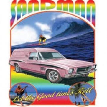 Australian Cars & Transport Holden Sandman HQ 1974 Tin Sign