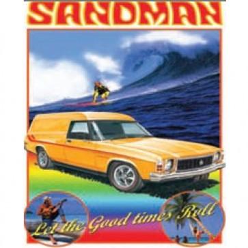 Australian Cars & Transport Holden Sandman HX 1976 Tin Sign