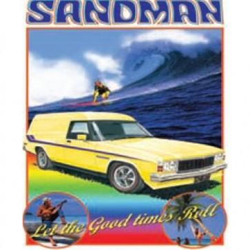 Australian Cars & Transport Holden Sandman HZ 1977 Tin Sign