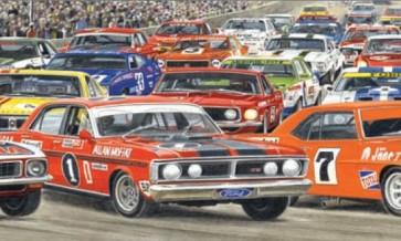 Australian Cars & Transport The Panorama of Legends 2 Tin Sign