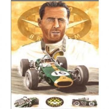 Australian Cars & Transport Sir Jack Brabham Tin Sign