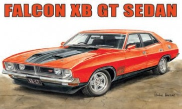 Australian Cars & Transport Ford Falcon XB GT 4 door Tin Sign