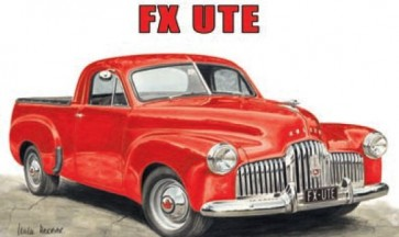 Australian Cars & Transport Holden FX Ute Tin Sign