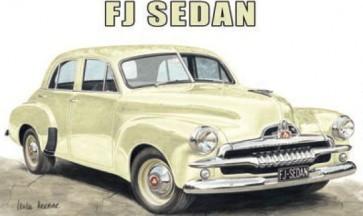 Australian Cars & Transport Holden FJ Sedan Tin Sign