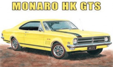 Australian Cars & Transport Holden Monaro HK GTS Tin Sign