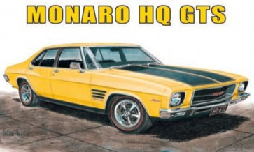 Australian Cars & Transport Holden Monaro HQ GTS 4 door Tin Sign