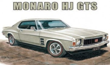 Australian Cars & Transport Holden Monaro HJ GTS Tin Sign