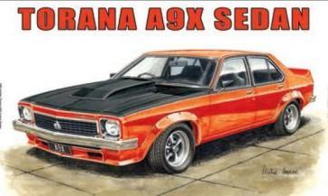 Australian Cars & Transport Holden Torana A9X Sedan 4 door Tin Sign