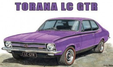 Australian Cars & Transport Holden Torana LC GTR Tin Sign