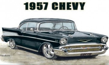 Australian Cars & Transport 1957 Chevy Tin Sign