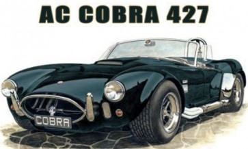 Australian Cars & Transport AC Cobra 427 Tin Sign