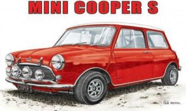 Australian Cars & Transport Austin Mini Cooper S Tin Sign