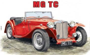 Australian Cars & Transport MG TC Tin Sign
